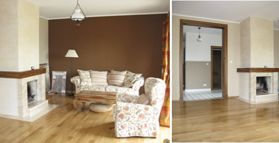Klasyczna elegancja podłogi drewnianej